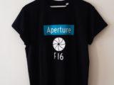 Camiseta «Aperture F 16»