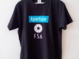 Camiseta «Aperture F 5.6»